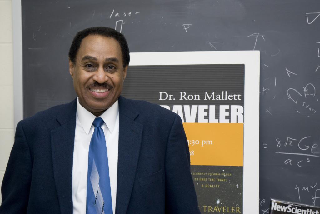 Ron Mallett, professor of physics
